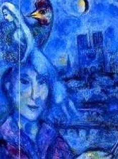 Marc Chagall self portrait Uffizi - Florence with flair