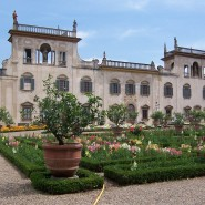 Renaissance and baroque gardens in Villa CS