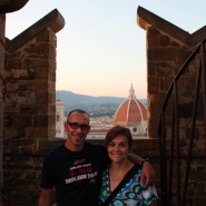 guided tour of the towers at sunset in florence