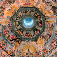 Climb to Brunelleschi's dome with Elena Fulceri, climb to visit Vasari's frescoes with Elena Fulceri