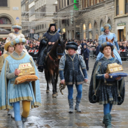 renaissance parade in florence