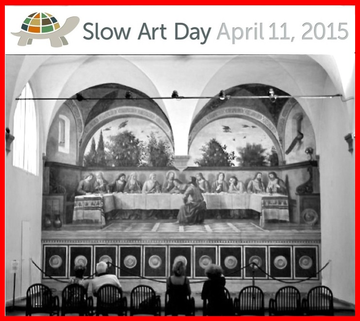 Cenacolo Ognissanti for Slow Art Day 2015